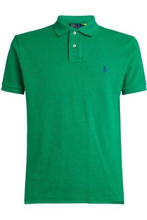Polo Ralph Lauren Cotton Custom-Fit Mesh Polo Shirt