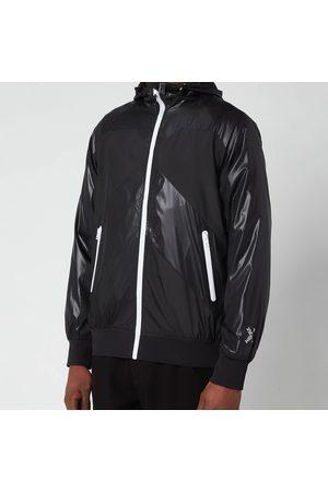Kenzo Men Jackets - Men's Sport Zip Through Hooded Windbreaker