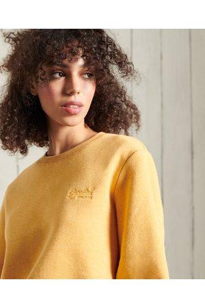 Superdry Women Sweatshirts - Orange Label Classic Sweatshirt