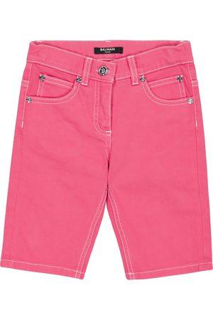 Balmain Girls Denim Skirts - Cropped jeans