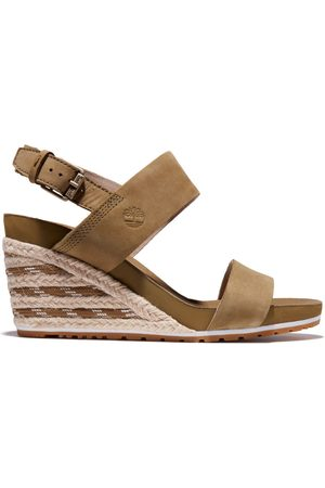 Timberland Women Sandals - Capri sunset wedge sandal for women in greige greige, size 3.5