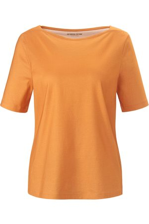 Green Cotton Short-sleeved top in 100% cotton size: 12