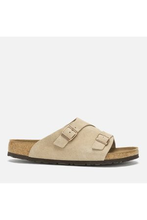 Men Sandals - Birkenstock Men's Zurich Sfb Suede Slide Sandals