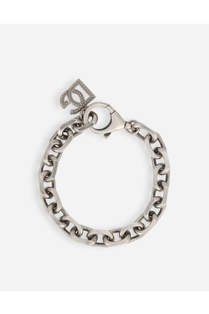 Dolce & Gabbana Collection - SILVER CHAIN BRACELET male OneSize