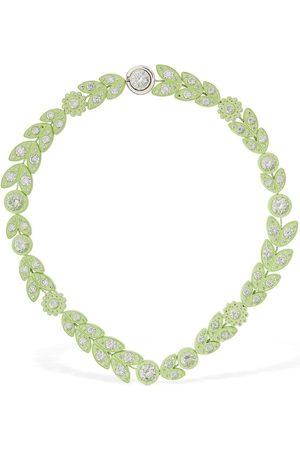 Bottega Veneta Flower Chain Short Necklace