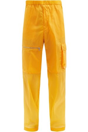 Moncler Men Trousers - 1952 - Panelled Shell Cargo Trousers - Mens