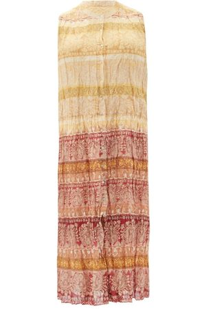 Mes Demoiselles Banjara Sleeveless Printed Cotton-blend Dress - Womens - Multi