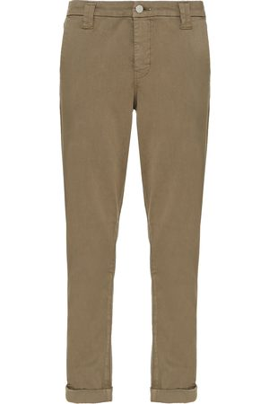 J Brand Women Skinny Trousers - Woman Cotton-blend Slim-leg Pants Taupe Size 23