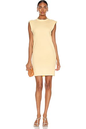 BASSIKE Midweight Turnback Tank Dress in Pigment