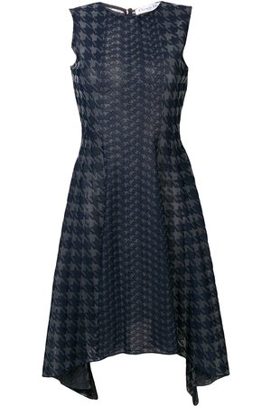 Christian Dior 2010s pre-owned houndstooth knit dress