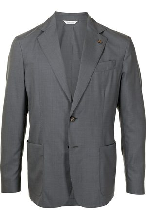 COLOMBO Single-breasted fitted blazer
