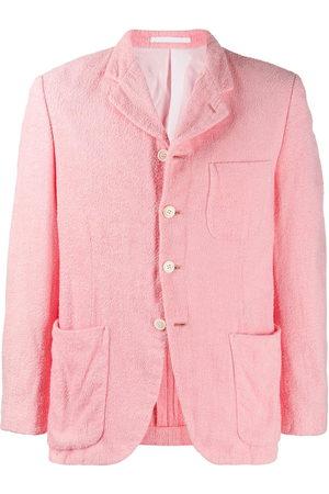 Comme des Garçons Textured buttoned jacket