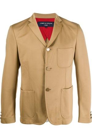 Comme des Garçons 2000s multi-pockets slim jacket - Neutrals