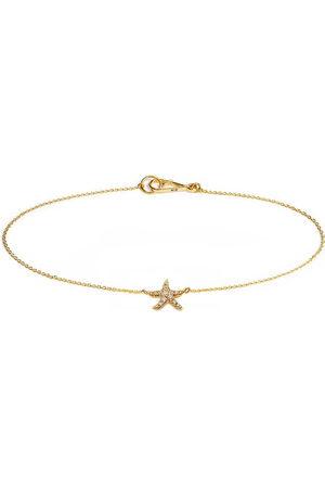 ANNOUSHKA 18kt yellow diamond Starfish bracelet