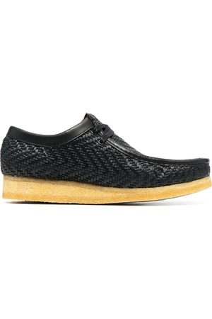 Clarks Woven slip-on trainers