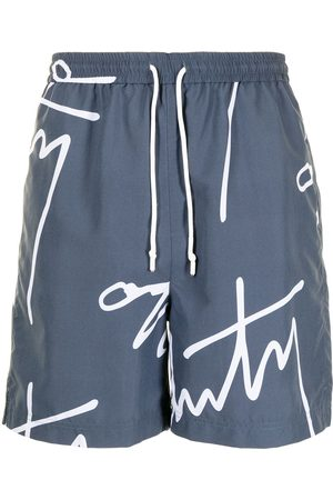 Off-Duty Logo-print Baali shorts