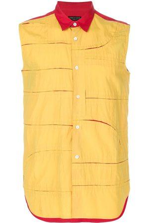 Comme des Garçons Panelled sleeveless shirt