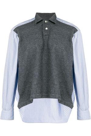 Comme des Garçons Striped detail polo shirt