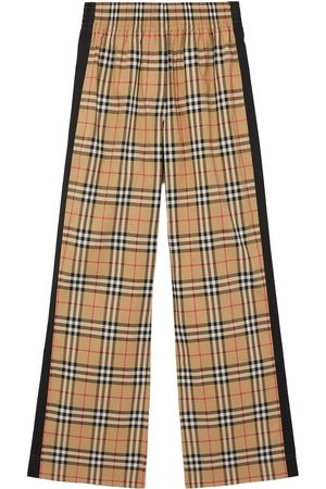 Burberry Vintage check high-waisted trousers