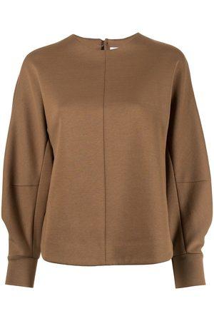MAME KUROGOUCHI Women Sweatshirts - Balloon-sleeve sweatshirt