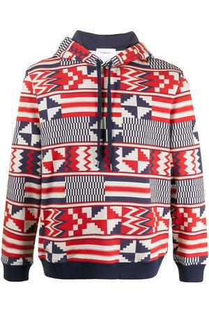 Ports V Sweatshirts - Geometric print hoodie