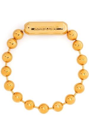 AMBUSH Logo ball chain bracelet