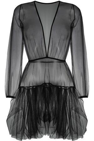 Alchemy Semi-sheer mini dress