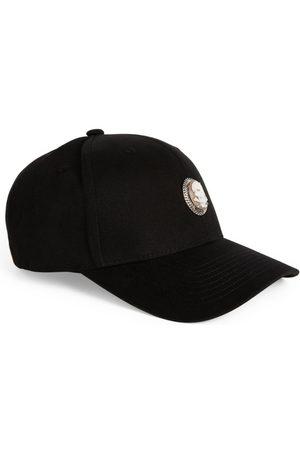 AMEDEO Men Hats - Skull Cameo Baseball Cap