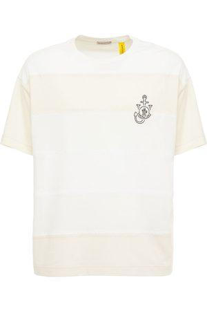 Moncler Genius Jw Anderson Color Block Jersey T-shirt