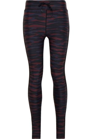 The Upside Woman Printed Stretch Leggings Navy Size 10