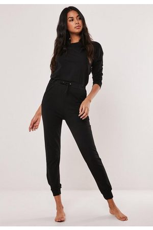 Missguided Casual Slouch Loungewear Jumpsuit