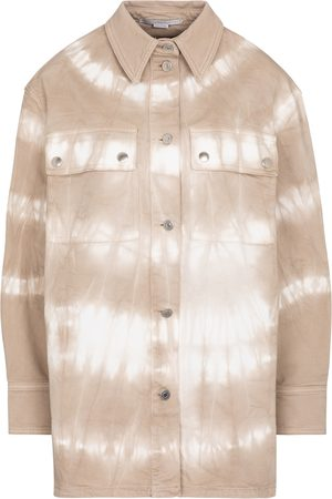 Stella McCartney Tie dye denim shirt jacket