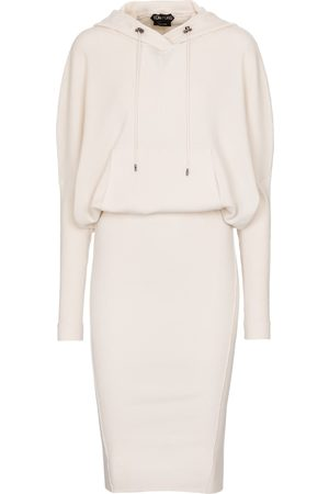 Tom Ford Cashmere-blend hoodie dress