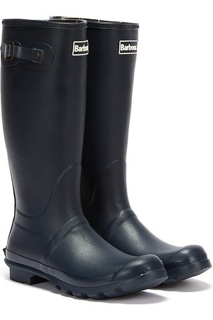 Barbour Bede Mens Navy Wellies