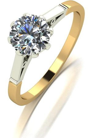 Moissanite 9Ct 1.00Ct Eq Solitaire Ring