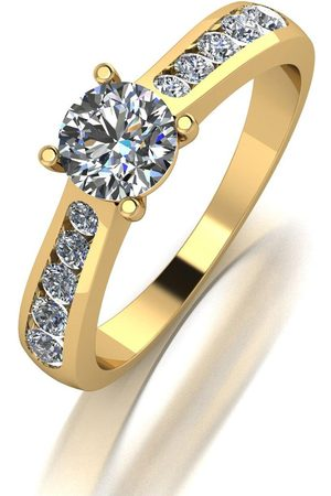 Moissanite 9Ct 1.00Ctct Total Solitaire Ring