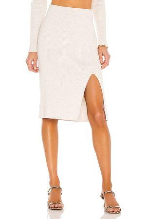 Bobi BLACK Fine Cotton Sweater Skirt in . Size M, S, XS.