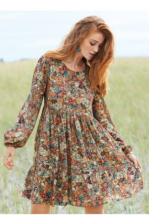 Peruvian Connection Vintage Blooms Dress