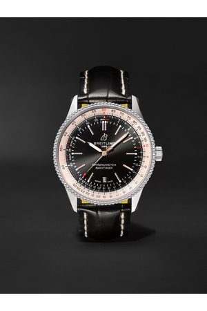 Breitling Navitimer 1 Automatic 41mm Stainless Steel and Alligator Watch, Ref. No. A17326211B1P2