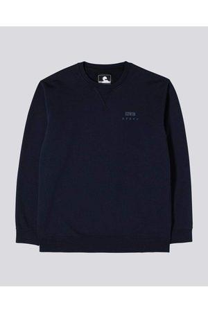 Edwin Men Blazers - Base Crew Sweatshirt - Navy Blazer