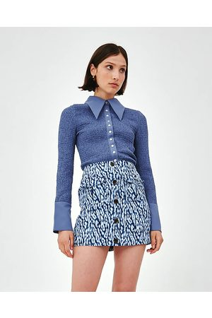 C/meo Collective Washed Blue Good Love Top