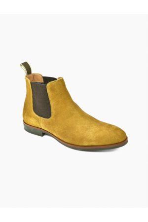 Front Douglas Suede Tan Chelsea Boots