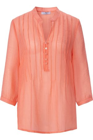 Peter Hahn Women Tunics - Tunic 3/4-length roll-up sleeves size: 10
