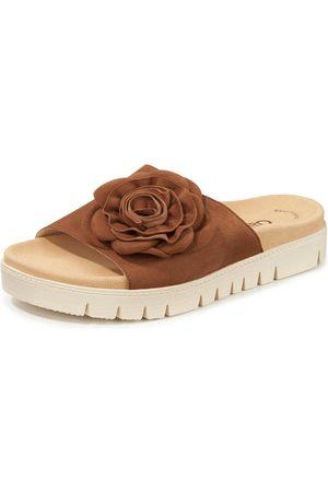Gabor Women Sandals - Kidskin suede sandals Best fitting finish size: 36