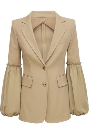 Max Mara Stretch Double Cotton Blazer Jacket