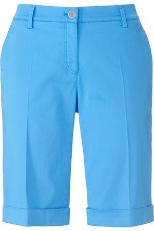 Brax Women Skinny Trousers - Slim fit Bermuda shorts design Mia S size: 10