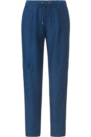 Brax Relaxed Fit pull-on trousers design Mareen denim size: 10s
