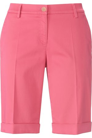 Brax Women Skinny Trousers - Slim fit Bermuda shorts design Mia S bright size: 10