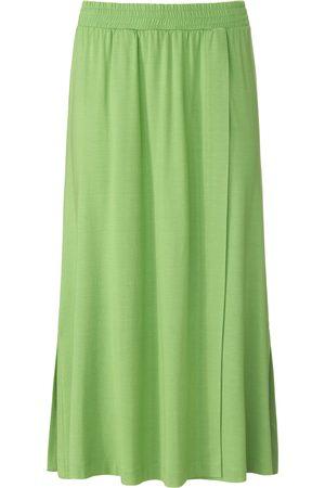 Peter Hahn Wrap look skirt elasticated waistband size: 10