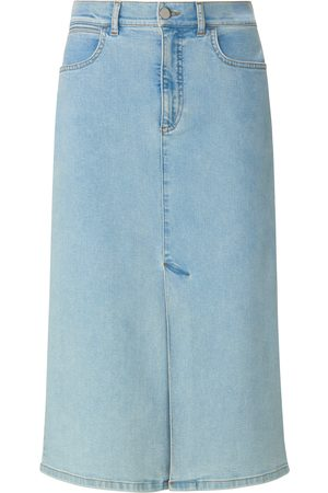 portray berlin Women Denim Skirts - Denim skirt in 5-pocket style denim size: 10